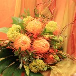 exotisches Blumenbukett