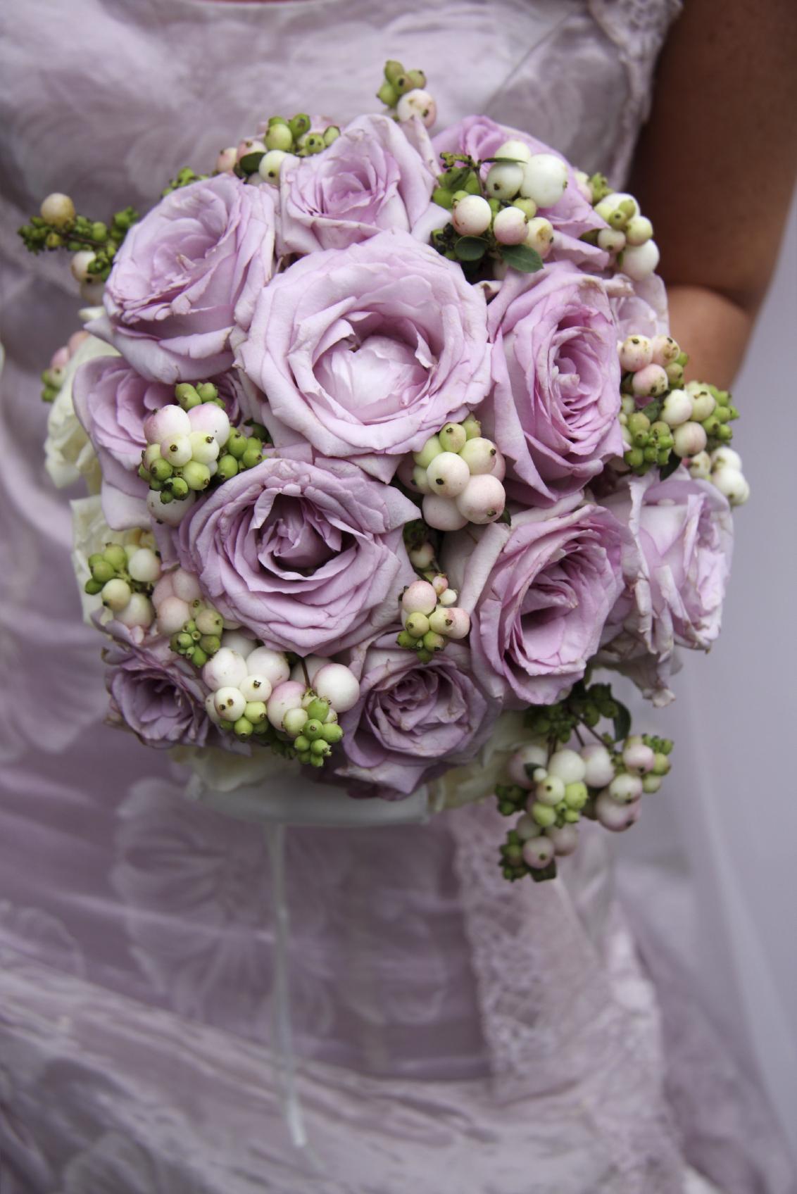 Brautbukett Flieder Blumen Judith